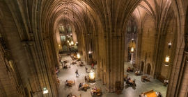 Inside of Cathedral of Learning