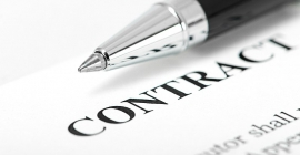 Contract paperwork